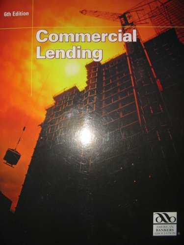 Commercial Lending 6th 2007 edition cover