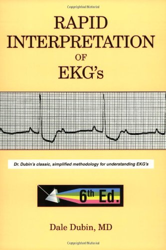 Rapid Interpretation of EKG's  6th 2000 9780912912066 Front Cover