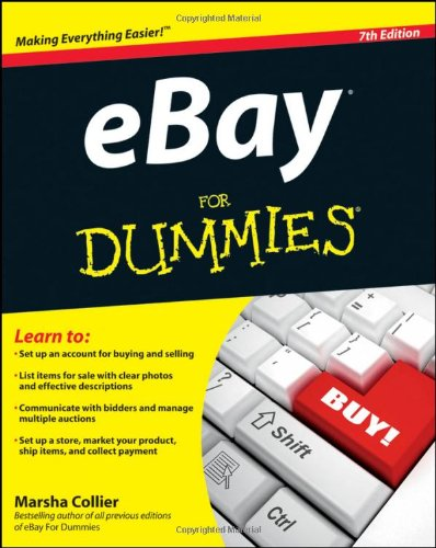 eBay for Dummies  7th 2011 edition cover