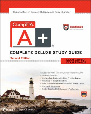 CompTIA A+ Exams 220-801 and 220-802 2nd 2012 edition cover