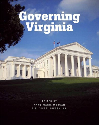 Governing Virginia   2012 edition cover