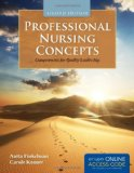 Professional Nursing Concepts Competencies for Quality Leadership 2nd 2013 edition cover