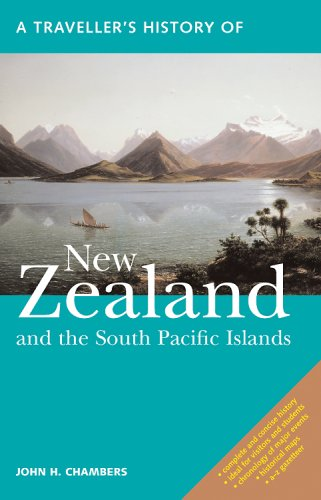 Traveller's History of New Zealand and South Pacific Islands  2nd 2014 edition cover