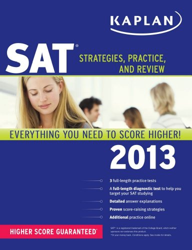 Kaplan SAT 2013  N/A edition cover