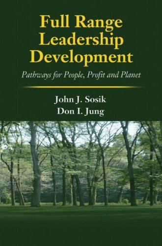 Full Range Leadership Development Pathways for People, Profit and Planet  2010 9781848728066 Front Cover