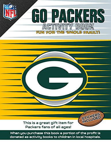 Go Packers Activity Book   2014 9781941788066 Front Cover