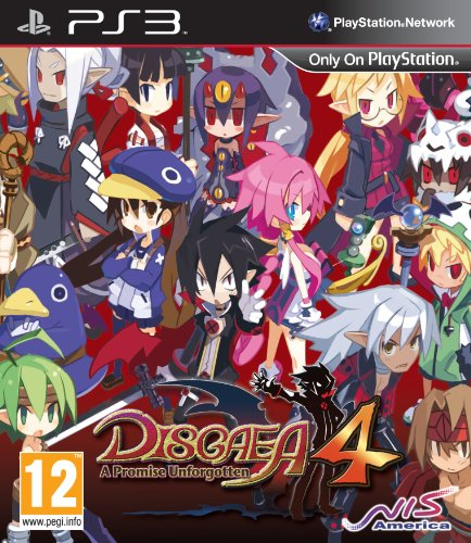 Disgaea 4: A Promise Unforgotten (PS3) (UK) PlayStation 3 artwork