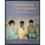 Laboratory Experiments for General Chemistry  4th 2002 9780030329067 Front Cover