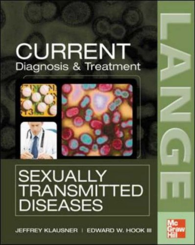 CURRENT Diagnosis & Treatment of Sexually Transmitted Diseases   2007 9780071456067 Front Cover
