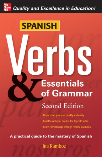 Spanish Verbs and Essentials of Grammar  2nd 2008 edition cover