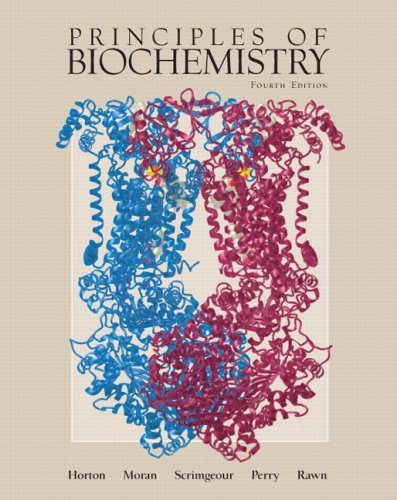 Principles of Biochemistry  4th 2006 edition cover