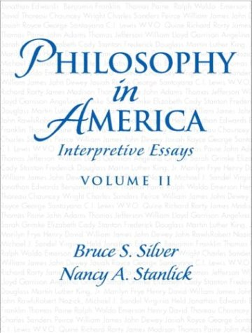 Philosophy in America Interpretive Essays  2004 edition cover