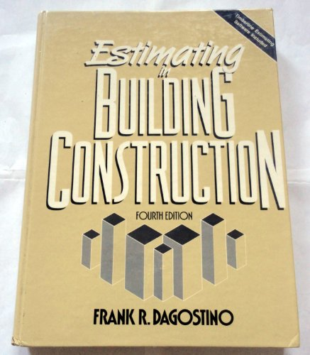 Estimating in Building Construction  4th 1993 9780132878067 Front Cover