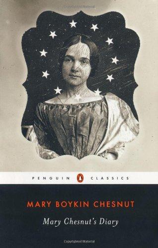 Mary Chesnut's Diary   2011 edition cover