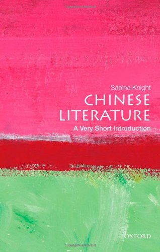 Chinese Literature   2012 9780195392067 Front Cover