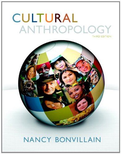 Cultural Anthropology  3rd 2013 edition cover