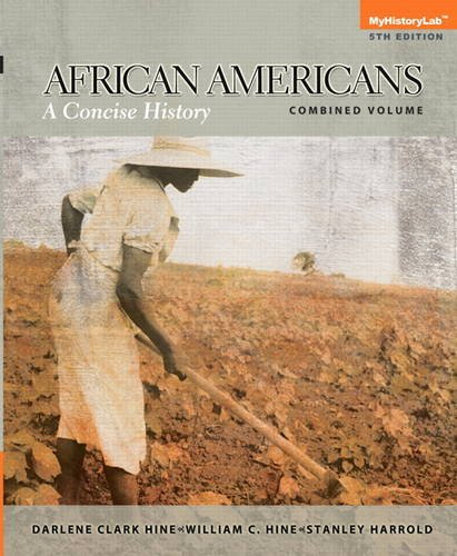 African Americans A Concise History 5th 2014 edition cover