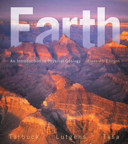 Earth An Introduction to Physical Geology 11th 2014 9780321814067 Front Cover
