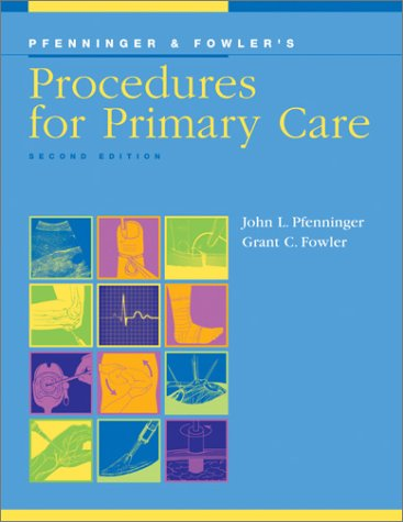 Procedures for Primary Care  2nd 2002 (Revised) edition cover