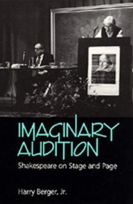 Imaginary Audition Shakespeare on Stage and Page  1991 edition cover