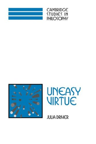 Uneasy Virtue  N/A 9780521034067 Front Cover