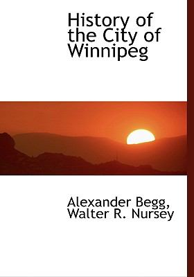 History of the City of Winnipeg:   2008 edition cover