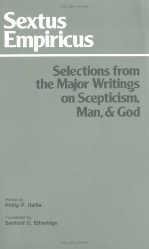 Selections from the Major Writings on Scepticism, Man, and God  2nd 1985 (Revised) edition cover