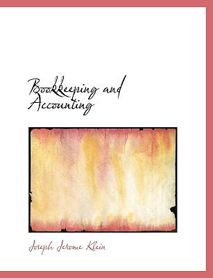 Bookkeeping and Accounting N/A 9781113629067 Front Cover