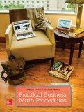 Practical Business Math Procedures + Business Math Handbook:  12th 2016 9781259725067 Front Cover