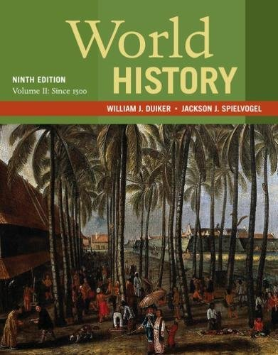 World History: Since 1500  2018 9781337401067 Front Cover
