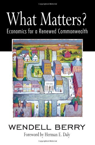 What Matters? Economics for a Renewed Commonwealth  2010 edition cover