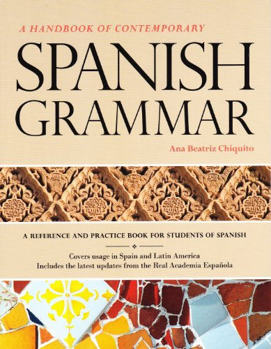 Spanish Grammar SE + SS  N/A edition cover