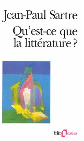 Qu'est-ce Que la Litterature?   1972 edition cover