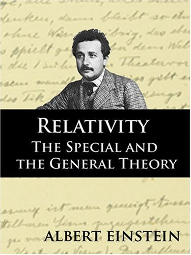Relativity The Special and General Theory N/A edition cover