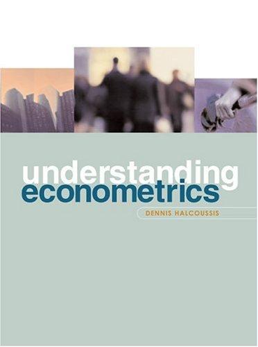 Understanding Econometrics   2005 edition cover