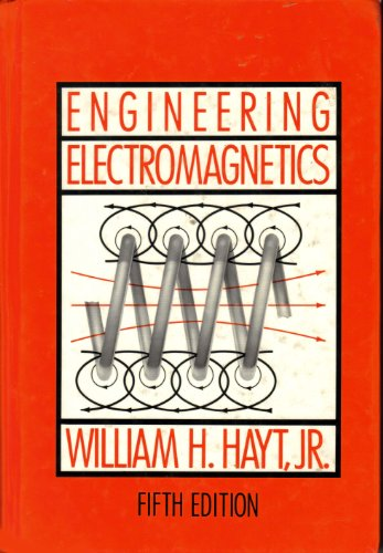 Engineering Electromagnetics 5th 1989 edition cover