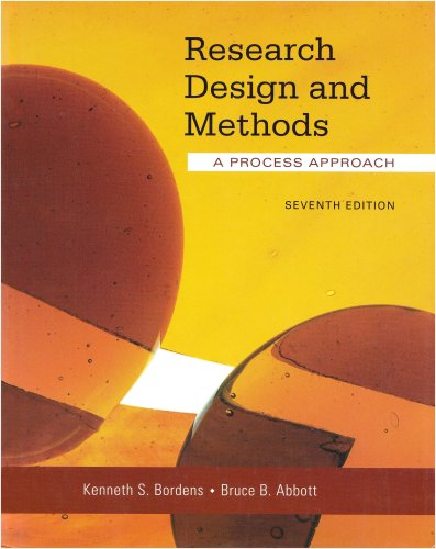 Research Design and Methods A Process Approach 7th 2008 edition cover
