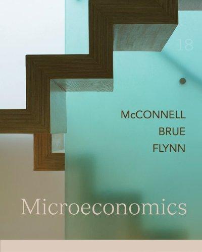 Microeconomics + Connect Plus Access Card 18th 2009 edition cover