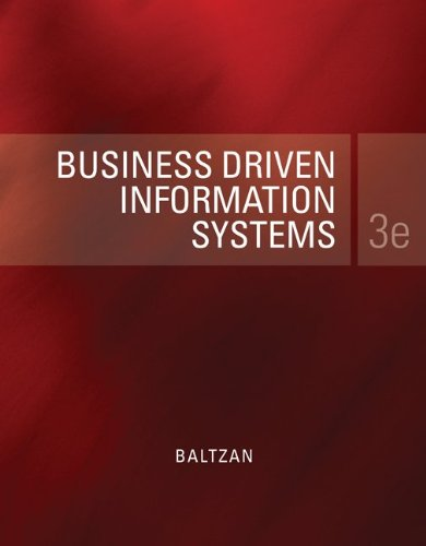 Business Driven Information Systems  3rd 2012 edition cover