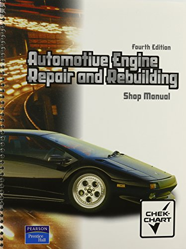 Automotive Engine Repair and Rebuilding  4th 2005 edition cover