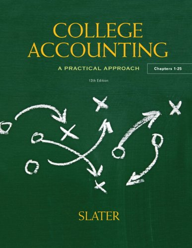 College Accounting  12th 2013 (Revised) edition cover