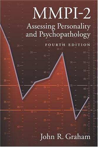 MMPI-2 Assessing Personality and Psychopathology 4th 2005 (Revised) edition cover