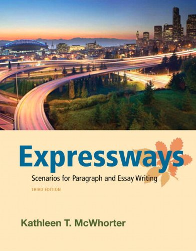 Expressways Scenarios for Paragraph and Essay Writing 3rd 2013 (Revised) edition cover