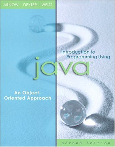 Introduction to Programming Using Java An Object-Oriented Approach 2nd 2004 (Revised) 9780321200068 Front Cover
