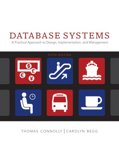 Database Systems A Practical Approach to Design, Implementation and Management 5th 2010 edition cover