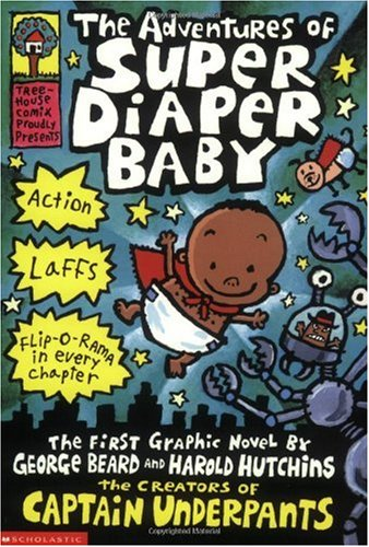 Adventures of Super Diaper Baby   2002 edition cover