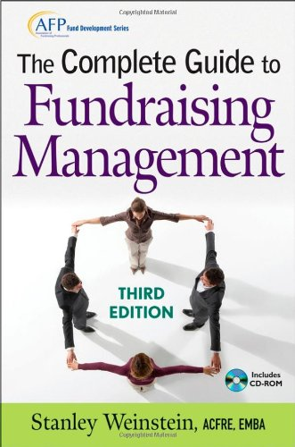 Complete Guide to Fundraising Management  3rd 2009 (Guide (Instructor's)) edition cover