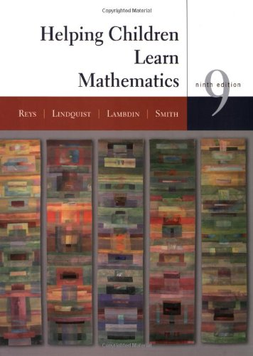 Helping Children Learn Mathematics  9th 2009 edition cover