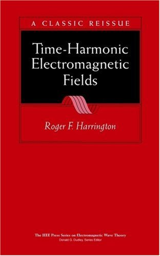Time-Harmonic Electromagnetic Fields  2nd 2001 edition cover