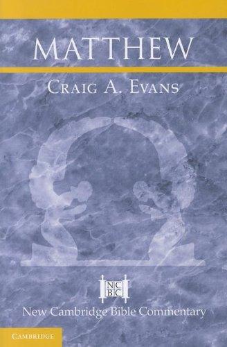 Matthew   2012 edition cover